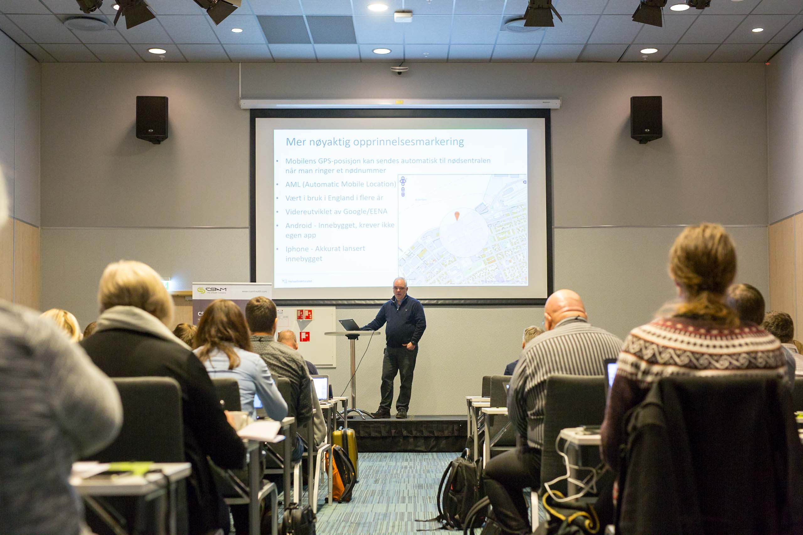 Keynote speaker at AMIS user conference.