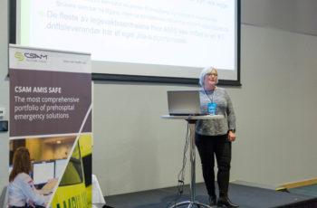 Kjellrun Borgmo at AMIS user conference.