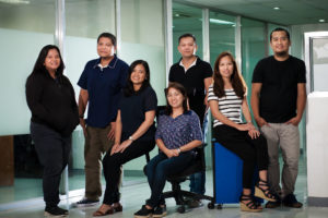 Employees at CSAM Philippines.