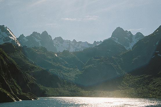 Landscape, Lofoten.