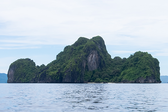 Landscape in Philippines.